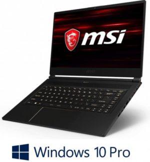 מחשב נייד לגיימרים MSI GS65 9SG  Intel® Core™ i7-9750H    32GB,  1TB,  NVIDIA® GeForce® RTX 2080 8GB – צבע שחור