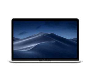 """מחשב נייד """"13.3 Apple MacBook Pro MV972HB/A עם Touch Bar בצבע כסף – 2019, כונן 512GB SSD, זכרון 8GB ומ.גרפי Intel 655"""