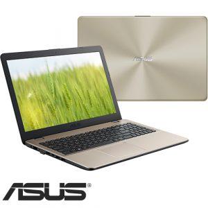 """מחשב נייד """"15.6 Asus VivoBook X542UA-GO553 i5-8250U בצבע זהב"""