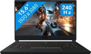 מחשב נייד לגיימרים MSI GS65 Stealth 9SF- Intel® Core™ i7-9750H   16GB,   1TB,  NVIDIA® GeForce® RTX 2070 8GB – צבע שחור 240Hz Thin Bezel