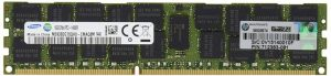 זכרון לשרת HP 16GB (1x16GB) Dual Rank x4 PC3-14900R 1 DDR3 1866 (PC3 14900) Internal Memory 708641-B21