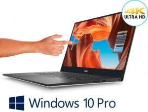 מחשב נייד   Dell XPS 15 7590 XP-RD33-11600 Intel® Core™ i9-9980HK זיכרון  32GB כונן קשיח 1TB M.2 SSD PCIe NVMe תצוגה 15.6 Inch4K Ultra HD(3840 x 2160) InfinityEdge Anti-Reflective Touch IPS100% AdobeRGB 500-Nits display מסך מגע 4K