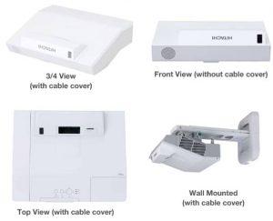 מקרן אינטראקטיבי Hitachi דגם CP-TW2505