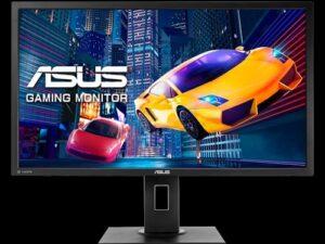 ASUS VP28UQGL Gaming Monitor – 28 inch, 4K, 1ms, Adaptive-Sync/FreeSync™, Flicker Free, Blue Light Filter, Ergonomic Design