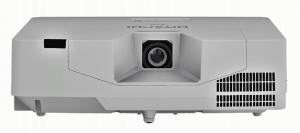 מקרן לייזר מקצועי לחדרי ישיבות , אולמות ומרכזי למידה גדולים ומוזיאונים מקרן לייזר Hitachi דגם LP-EU5002
