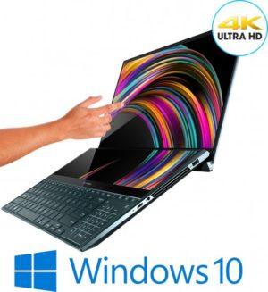 מחשב נייד עם מסך מגע Asus ZenBook Pro Duo UX581GV-H2004T – צבע כחול