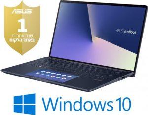 מחשב נייד  Core™ i5-10210U ,   8GB, SSD 512GB  Asus Zenbook 13 UX334FAC-A3121T – צבע כחול