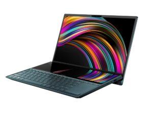 Asus Zenbook DUO UX481FL-BM039T -i7-10510/14.0/16GB on board/1TB M.2 SSD/NVIDIA MX250 GDDR5 2GB/Win10/1y/Blue+BAG & pen