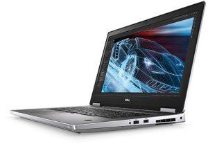 מחשב נייד    Dell Precision 7740 -17.3in FHD Ci9-9980HK 32GB 1TB M.2 SSD Nvidia RTX 3000 6GB דל