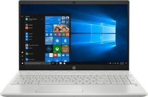 מחשב נייד Intel® Core™ i7-1065G7 , זיכרון פנימי בנפח 16GB, כונן SSD בנפח 512GB, מאיץ גרפי NVIDIA GeForce® MX250 4GB HP Pavilion 15- – צבע כסוף