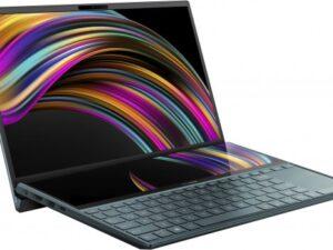 מחשב נייד עם מסך כפול Asus Zenbook Duo 14 UX481FA-BM020T – צבע כחול