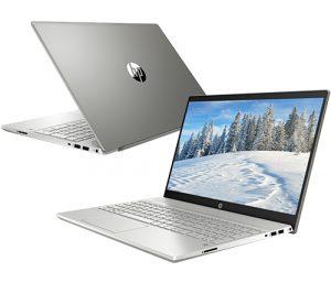"""מחשב נייד """"15.6 HP Pavilion 15- i7-1065G7 בצבע כסוף, כונן 512GB SSD, זכרון 16GB ומ.גרפי Nvidia GTX 1050"""