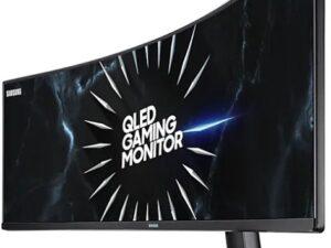 """מסך מחשב גיימינג קעור Samsung C49RG90SSM 49"""" LED VA צבע שחור"""