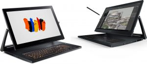 Acer's ConceptD 9 Pro 17.3-Inch Convertible w/ Core i9 & Quadro RTX 5000 מחשב נייד למעצבים