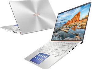 "מחשב נייד ""14 Asus ZenBook 14 UX431FL  i7-10510U win 10 pro בצבע כסוף כונן 1TB SSD זכרון 16GB ומ.גרפי Nvidia MX250"
