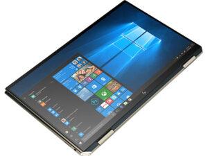 """מחשב נייד """"13.3 HP Spectre x360 13-AW0004NJ 3A689EA i7-1065G7 בצבע כחול, כונן 1TB SSD, זכרון 16GB ומ.גרפי Intel Iris Plus"""