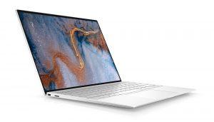 מחשב נייד Dell XPS 13 9300 מסך 13.4 UHD TOUCH   i7-1065 G7   16GB  1TB SSD    Arctic White Woven Glass Fiber Palmrest דל