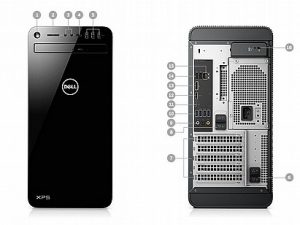 מחשב Intel Core i7 Dell XPS 8930 XP-RD33-11916 Mini Tower דל