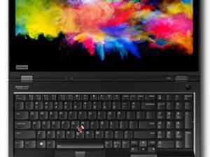 """מחשב נייד למכונות וירטואליות וגרפיקה Lenovo ThinkPad P53 i7-9850H 15.6"""" 1T-M.2 128GB W10P T2000-4G 3Y"""