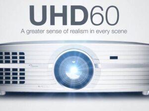 מקרן קולנוע ביתי Optoma UHD60 UHD/4K Projektor