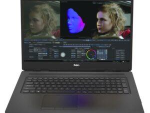 DELL Precision  M7750-9107 17.3 FHD  I9-10885 32GB 1TRSSD NVIDIA RTX 4000  6C WIN10PRO WS 3YOS