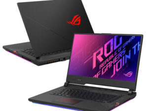 """מחשב נייד גיימינג """"15.6 Asus ROG Strix SCAR 15 G532LW-AZ106T i7-10875H בצבע שחור, כונן 1TB SSD זכרון 32GB ומ.גרפי GeForce RTX 2070"""