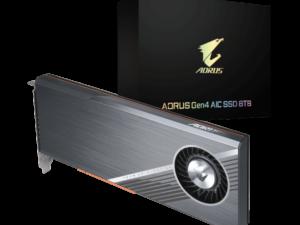 Gigabyte AORUS SSD 8.0TB Gen4 AIC  94SSD81001K4 GP-ASACNE6800TTTDA