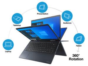 "PORTÉGÉ X30W-J-10C 13.3"" Touch FHD i7-1165G7 16GB 512SSD-PCIe 989g Win10Pro 3YW P&R"
