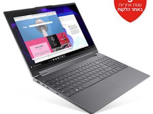 מחשב נייד עם מסך מגע Lenovo Yoga 9-15IMH 82DE001KIV – צבע אפור