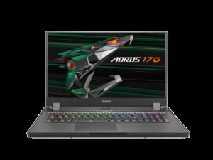 מחשב נייד לגיימרים ועורכים ג'יגהבייט Gigabyte Aero 17G XC 17.3 Inch Full HD 300HZ Intel 8 Core I7-10870H 5.00GHz 32GB RAM 512GB SSD Nvidia GeForce RTX 3070Q 8GB