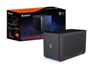כרטיס מסך חיצוני Gigabyte Aorus RTX GAMEBOX 3080 10GB Water coole