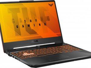 מחשב נייד לגיימרים  i7-10870 15.6 FHD  GTX 1660Ti 16G  512GB SSD  BlackAsus TUF Gaming F15 FX506LU-HN146 צבע שחור