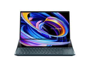 מחשב נייד UX582LR-H2014R  i9-10980HK 32GB 1TB SSD TouchScreen RTX3070 Asus ZenBook Pro Duo 15 4K OLED Touch