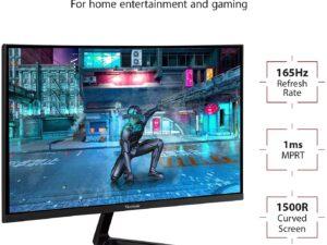 מסך מחשב גיימינג קעור 32' ViewSonic VX3218-PC-MHD
