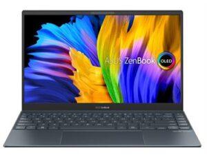 מחשב נייד  Asus ZenBook 13 UX325EA-KG239T FHD OLED  i7-1165G7 16GB  1TB M.2  Number Ped 1.14 kg Pine Grey אסוס