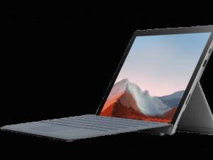 טאבלט Microsoft Surface Pro 7+  12.3 inch i7  32GB  1TB SSD  Platinum  Iris Xe Graphics 1NG-00001